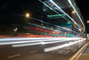 Trying to catch the bus (C Cousins) Tags: coventry lighttrails longexposure canon chance chanceencounters bus busstop streaks sigma 1750mmf28 beauty city cityscape night winter 2016 500d road transport lights headlights