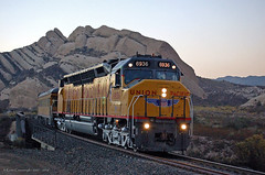 Final Encounter (GRNDMND) Tags: trains railroads unionpacific up locomotive emd dda40x inspection special cajonpass canyon palmdalecutoff cajon california