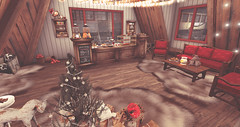 TAOX BORD BLOG WEB WINTER VILLAGE 2016 - 2017_29 (taox_novaland) Tags: taox tattoo yonvalfirethorn christmas tree sl secondlife trees decor decorate santa meri lights snow