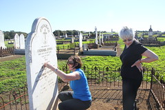 visiting ancestor - Michael O'Dea_9332 (gervo1865_2 - LJ Gervasoni) Tags: visiting ancestor michael odea tower hill cemetery 2016 kpc amg ckg south west victoria australia photographerljgervasoni