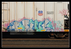 Union Pacific Drive (All Seeing) Tags: imok dna unionpacific reefer buildingamerica armn purged