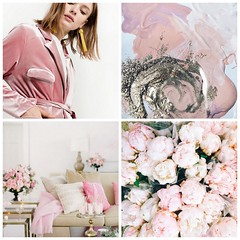 5-soft-pink1 (Cool Chic Style Fashion) Tags: happyweekend archittettura blushpink champagnecocktails chandelier collagefashion lacedress livingroom peonies pink quotes roses sequins velvet vignettes