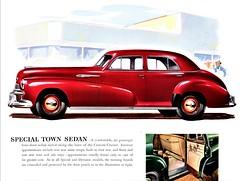 1942 Oldsmobile Special Town Sedan (aldenjewell) Tags: 1942 oldsmobile special town sedan brochure