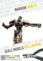 Scale Models Wellingon - Warrior Robots