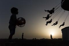 (Julien Sanine) Tags: mirleft morocco maroc sidi ifni sunset shadow street color kid julien sanine sony rx100