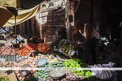 Man selling fruit - Marrakech, Morocco (Naomi Rahim (thanks for 3 million visits)) Tags: marrakech marrakesh morocco africa northafrica travel travelphotography nikon nikond7200 wanderlust contiki streetphotography street fruit stall greengrocer market souk man people therosecity مراكش meṛṛakec maroc
