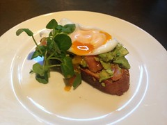 A favourite of last year, our Avocado salsa poached egg.
