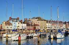 Weymouth's Old Harbour, Dorset (Baz Richardson (catching up again!)) Tags: dorset weymouth weymouthsoldharbour harbours yachts moorings