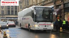 HENSHAWS EXECUTIVE TRAVEL MERCEDES BENZ TOURISMO GL15 HEN CHELTENHAM PROMENADE 06012017 (MATT WILLIS VIDEO PRODUCTIONS) Tags: henshaws executive travel mercedes benz tourismo gl15 hen cheltenham promenade 06012017