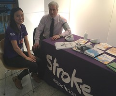 Promoting stroke awareness