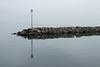 Yvoire on Le Lac Leman (mistca) Tags: france lacleman lakegeneva reflection minimalist winter yvoire hautesavoie