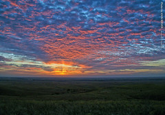 Just before sunrise in Flint Hills, 21 Oct 2015 (photography.by.ROEVER) Tags: greenwoodcounty kansas usa roadtrip october 2015 october2015 flinthills landscape beforesunrise morning color colour colors colours