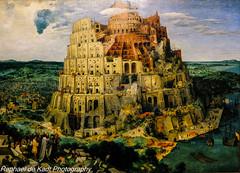 Pieter Bruegel the Elder's  'The Tower of Babel' (Raphael de Kadt) Tags: bruegel vienna museum pieterbruegeltheelder thetowerofbabel austria kunsthistorschesmuseumvienna painting art artists december2016 fujifilmxt2 fujinonxf16mmwr