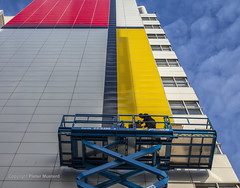 The Making of... (Pieter Musterd) Tags: pietmondriaan mondriaan destijl spuiplein stadhuis richardmeier denhaag pietermusterd musterd canon pmusterdziggonl nederland holland nl canon5dmarkii canon5d 'sgravenhage thehague zuidholland paysbas thenetherlands niederlande haagspraak