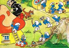 CCF20121130_00007 (JustynaJustys) Tags: smurfs smerfy cartoons bajki