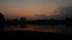 Lake by twilight, Tezpur (John Steedman) Tags: lake twilight tezpur india assam northeast
