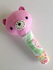Baby Girl Rattle Polka Dot (Marci Girl Designs) Tags: sweetlystitchedhandmades amysinibaldi scraps fabric rattle babytoy baby handstitching nanacompany