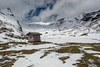 The nicest little outhouse.... (Matts__Pics) Tags: bachalpsee swissalps grindlewald mountain snow frozenlake rocks