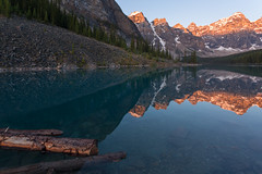 Golden Morning at Moraine (Ken Krach Photography) Tags: banffnationalpark lakemoraine