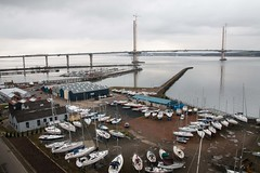 New Queensferry Crossing - March 2017 12 (Bill Cumming) Tags: scotland forth river bridge bridgeconstruction southqueensferry