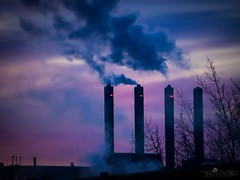 Day 59: There Are Four Lights!! (howardpa58) Tags: ifttt 500px winter 365project alberta city daybreak industrial landscape morning outdoor paulhowardphoto paulhowardphotocom paulhowardphotography reddeer silhouette sky smoke steam urban