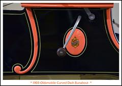 1903 Oldsmobile Curved Dash Runabout (sjb4photos) Tags: gilmorecarmuseum 1903curveddasholdsmobile crank