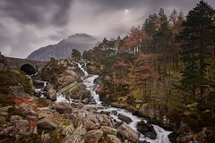 Afon Ogwen 4 (explored March 2017) (another_scotsman) Tags: river ogwen snowdonia wales landscape tree longexposure
