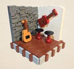 Jam Session (dzambito42) Tags: lego guitar band basement jam jamband