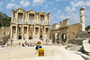 Travels of badger - Library of Celsus at Ephesus (enigmabadger) Tags: travel vacation history beach turkey greek coast ancient asia europe lego fig roman muslim islam istanbul historical classical sultan ottoman minifig custom eastern orthodox byzantine izmir constantinople minifigure brickarms