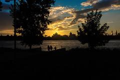 Suan (kliqs) Tags: new york city nyc sunset sky sun brooklyn clouds landscape cityscape manhattan sony 7 williamsburg alpha nex mirrorless nex7