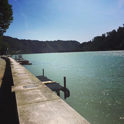 Heute an der #Donau entlang spaziert.