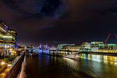towerfromupriver (Steve J Cottis) Tags: longexposure london thames night towerbridge river th tokina1116mm28 nikond5300