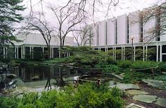 oberlin - conservatory and concert hall 2 (Doctor Casino) Tags: school ohio music architecture campus university architect 1964 oberlin 1963 minoruyamasaki warnerconcerthall bibbinshall modernformalism