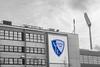Agency of VfL Bochum @ Ruhrstadion / Rewirpowerstadion, Bochum, Germany ([ PsycBob ]) Tags: im stadium des blau stadion bochum weiss 1848 vfl ruhrstadion colorkeying ostkurve geschäftstelle revierpowerstadion tiefimwesten colorstrokes