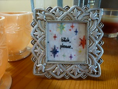 bitch, please. (smouse1) Tags: crossstitch embroidery crafts frame imadethis bitchplease flickrfriday