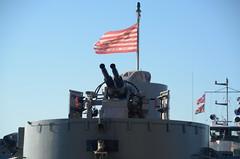LST-325 bow cannons (Buck Davidson) Tags: ship tank cincinnati wwii navy vessel buck naval tamron davidson 325 warship lst nikond7100