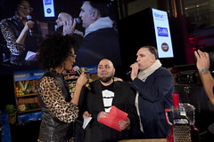 Hosts Carla Hall and Jose Andres with Duff Goldman (DC Central Kitchen) Tags: joseandres duffgoldman carlahall capitalfoodfight