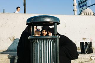 Garbage Can Selfies | Istanbul, Turkey