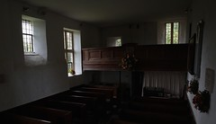 Divided light. (hadrian.speight) Tags: england interiors churches somerset eastlambrook