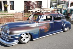 1948 Chrysler New Yorker (bballchico) Tags: 1948 sedan newyorker chrysler surfboards billetproof 4door surfcar surfsedan