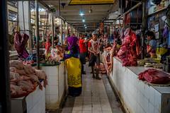 Salatiga Market | The Meat Section (Ordinary_Folk) Tags: life red colour indonesia happy humanity market f14 sony voigtlander mc human colourful 40mm dailylife alpha a7 nokton element developingcountry salatiga