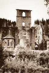 Kloster Allerheiligen, Oppenau, Schwarzwald (RGaenssler) Tags: deutschland europa schwarzwald ilfordpanf badenwrttemberg oppenau klosterallerheiligen