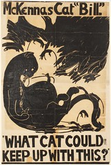 Suffrage campaigning: What Cat Could Keep Up With This? 1913-1914