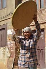 Nepal, Bhaktapur (dscheronimo) Tags: travel nepal woman nikon asia asien rice reis frau himalaya bhaktapur d800 hft himalayafairtrekking