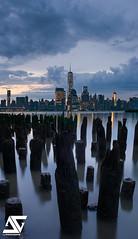 Cloudy sunrise (A.G. Photographe) Tags: nyc usa cloud ny newyork sunrise nikon cloudy manhattan ag nikkor nuage lowermanhattan anto xiii nuageux 2470 d810 oneworldtradecenter antoxiii agphotographe