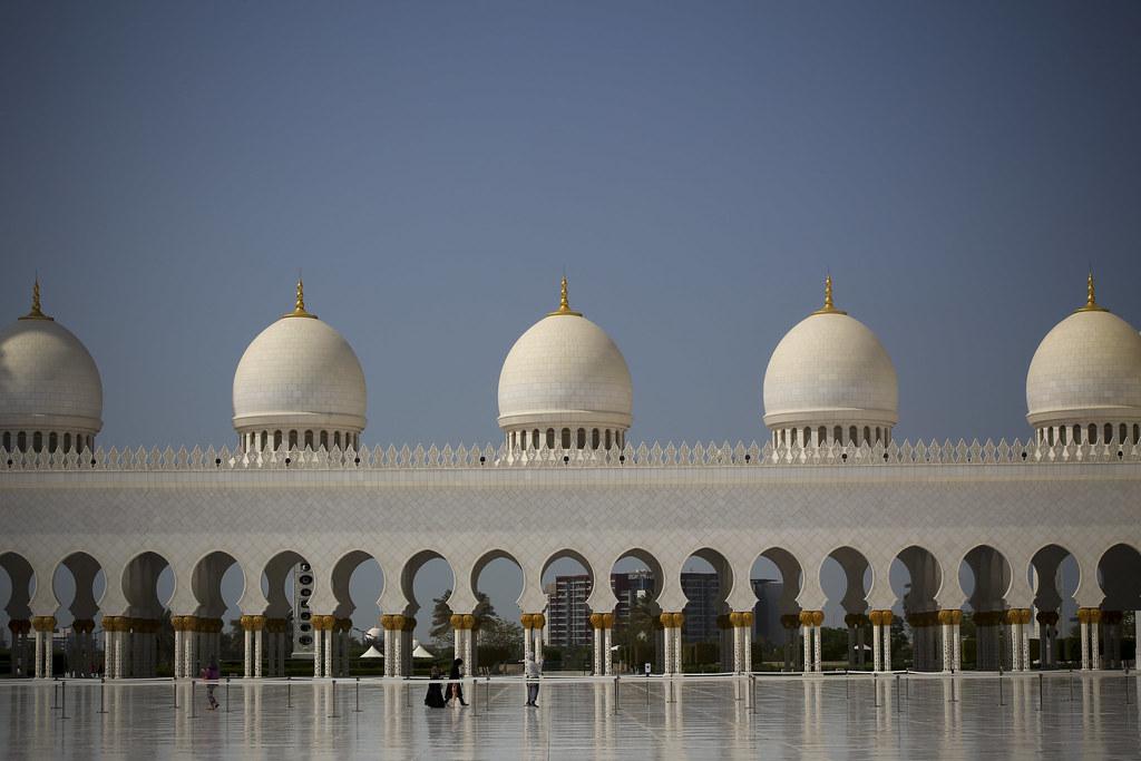 gran mezquita de abu dabi jairoextre tags city travel sunset sea sun sol
