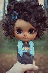 My Girl Happy (Lawdeda ❤) Tags: love outside happy doll sunday tan her much blythe custom tbl grumpy fro adorableness littledollsroom