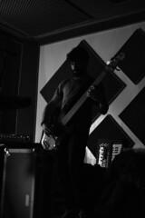 black (phaserem) Tags: blackandwhite live fujifilm biancoenero rockandroll fuckyeah xe1 xf35mm