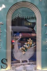 Festive Tiffanys Windows (5 of 7) (Singing With Light) Tags: nyc autumn windows ny festive photography lights december manhattan sony stpatrickscathedral christmaslights displays 12th 5thave 2015 festivelights rockerfellercentre mirrorless sonykitlens sony16mm28 singingwithlight singingwithlightphotography alpha6000 sonya6000 sony24240 lightjj