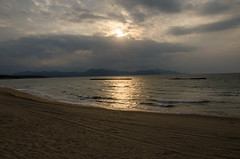 Yuhigaura, Kyotango /  (Kaoru Honda) Tags: ocean sunset sea nature japan landscape japanese evening coast nikon kyoto             yuhigaura kyotango   d7000 seaofjapan